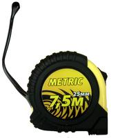 """Рулетка 7,5/25мм """"Metric +"""" с автостопом и магнитом"""