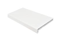 Подоконник VPL, белый сатин, полуглянец (под заказ)