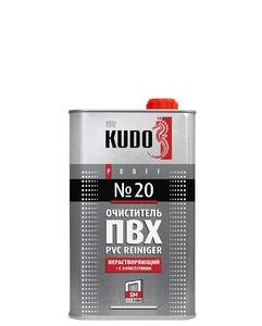 Очиститель ПВХ KUDO №20 нерастворяющий, с антистатиком