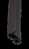 Уплотнитель КБЕ для рам и створок, черный, усиленный