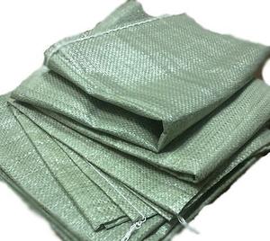 Мешки п/пропилен 55х95 зеленые