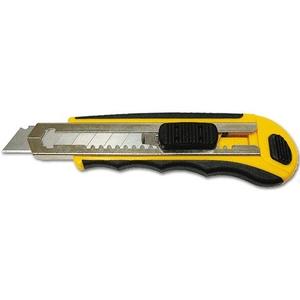 Нож 18мм с выдвежным лезвием с обоймой